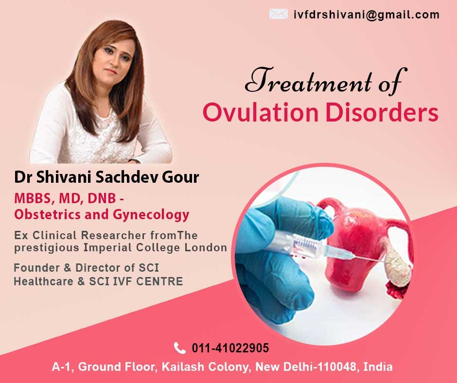 Treatment of Ovulation Disorders - Stimulation and Cycle Monitoring