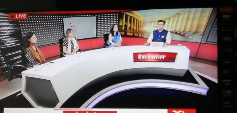 Dr Shivani Sachdev Gour General Secretary INSTAR on Rajya Sabha TV today for a Debate on Surrogacy